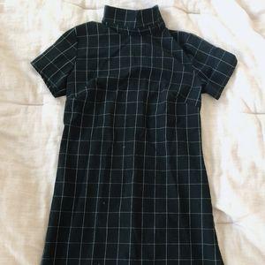 Brandy Melville Mini Plaid Dress